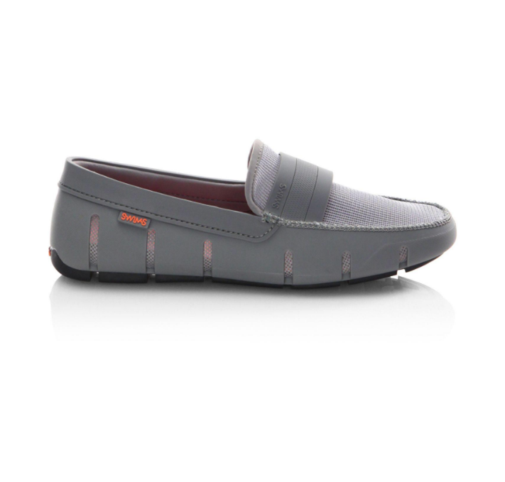 "Swims ""STRIDE"" Single Band Loafers Grey"