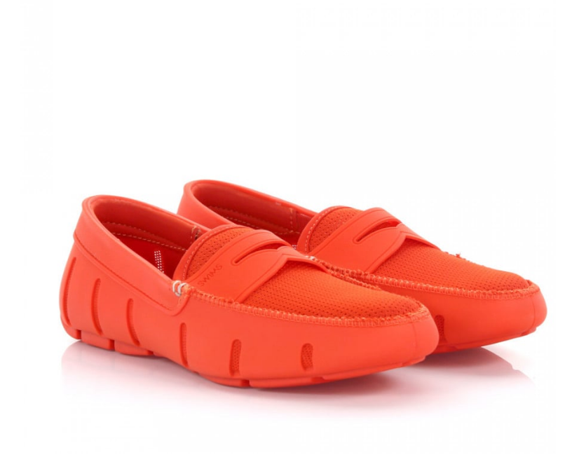 Swims Penny Loafer Orange
