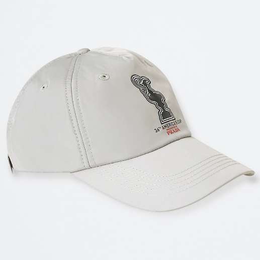 North Sails America's Cup Presented by PRADA Baseball Cap Grey Violet