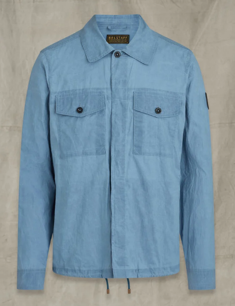 Belstaff Recon Overshirt Airforce Blue