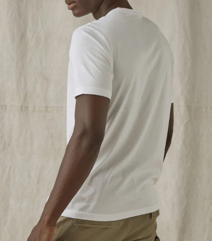 Belstaff Basic Crew Neck T-Shirt White