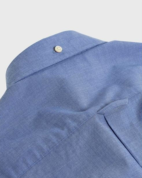 "Gant ""Broadcloth"" Shirt Mid Blue"
