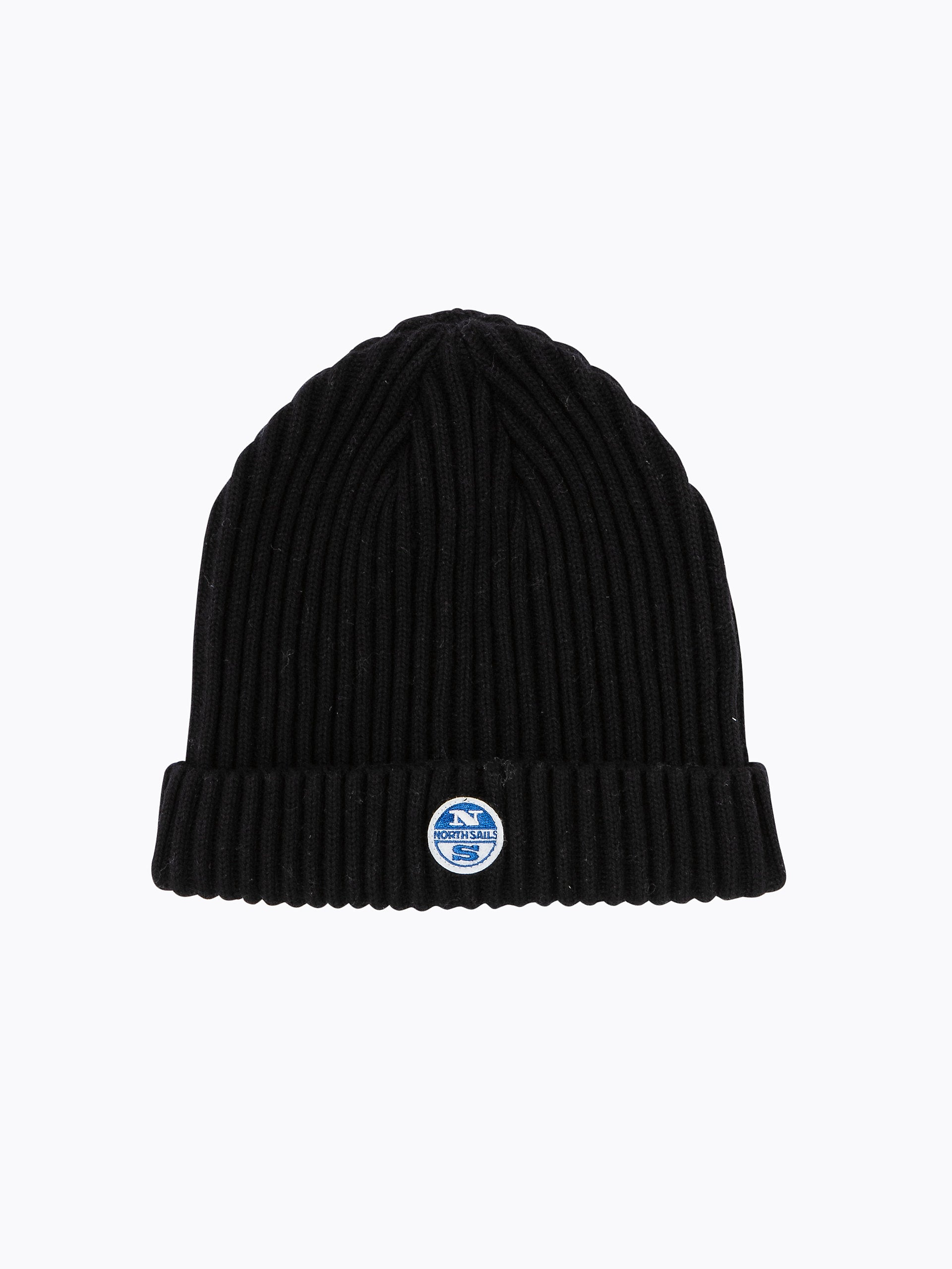 North Sails Woolly Beanie Hat Black