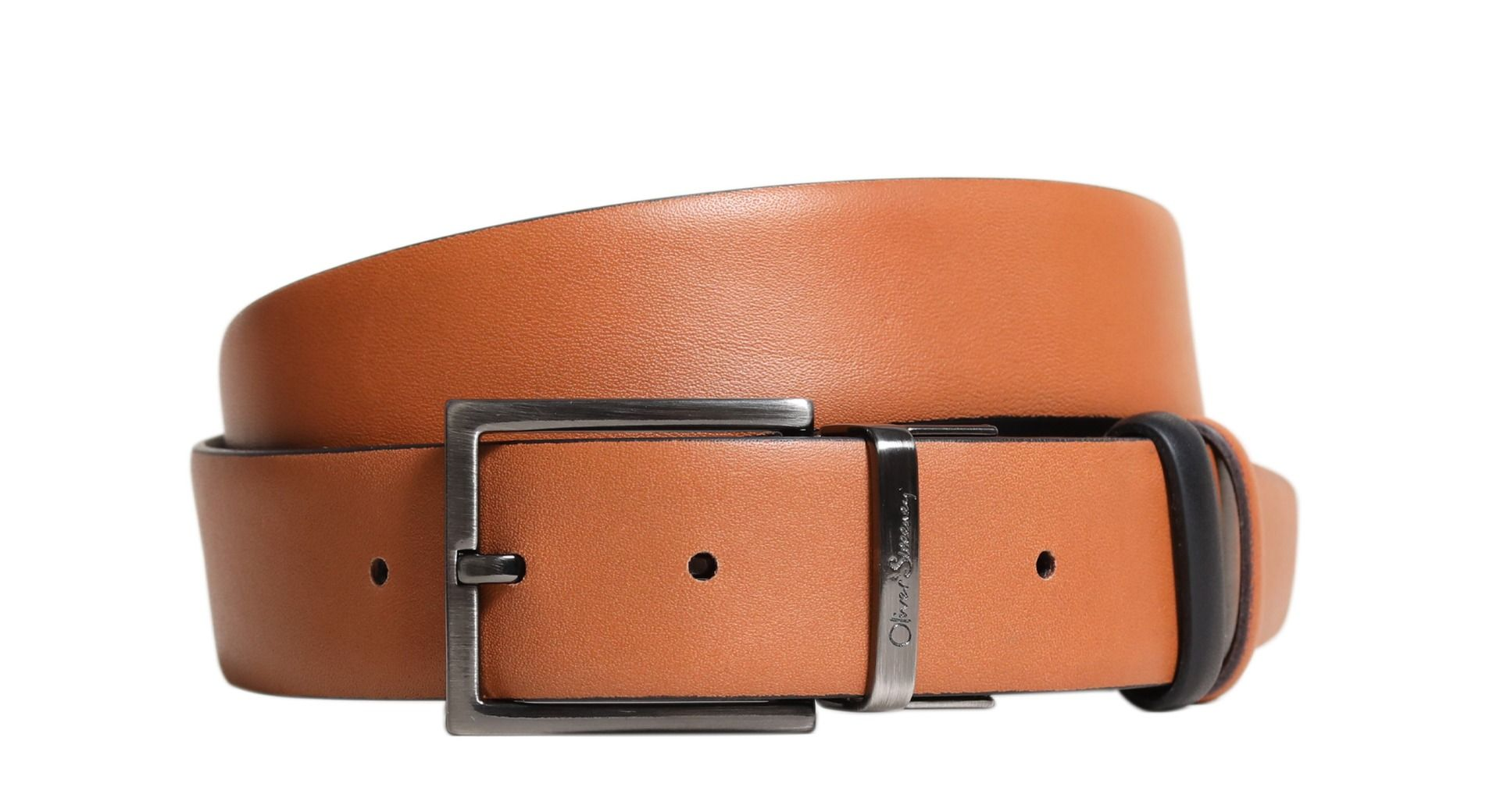 "Oliver Sweeney ""CARAVONICA"" Reversible Belt Tan/Black"