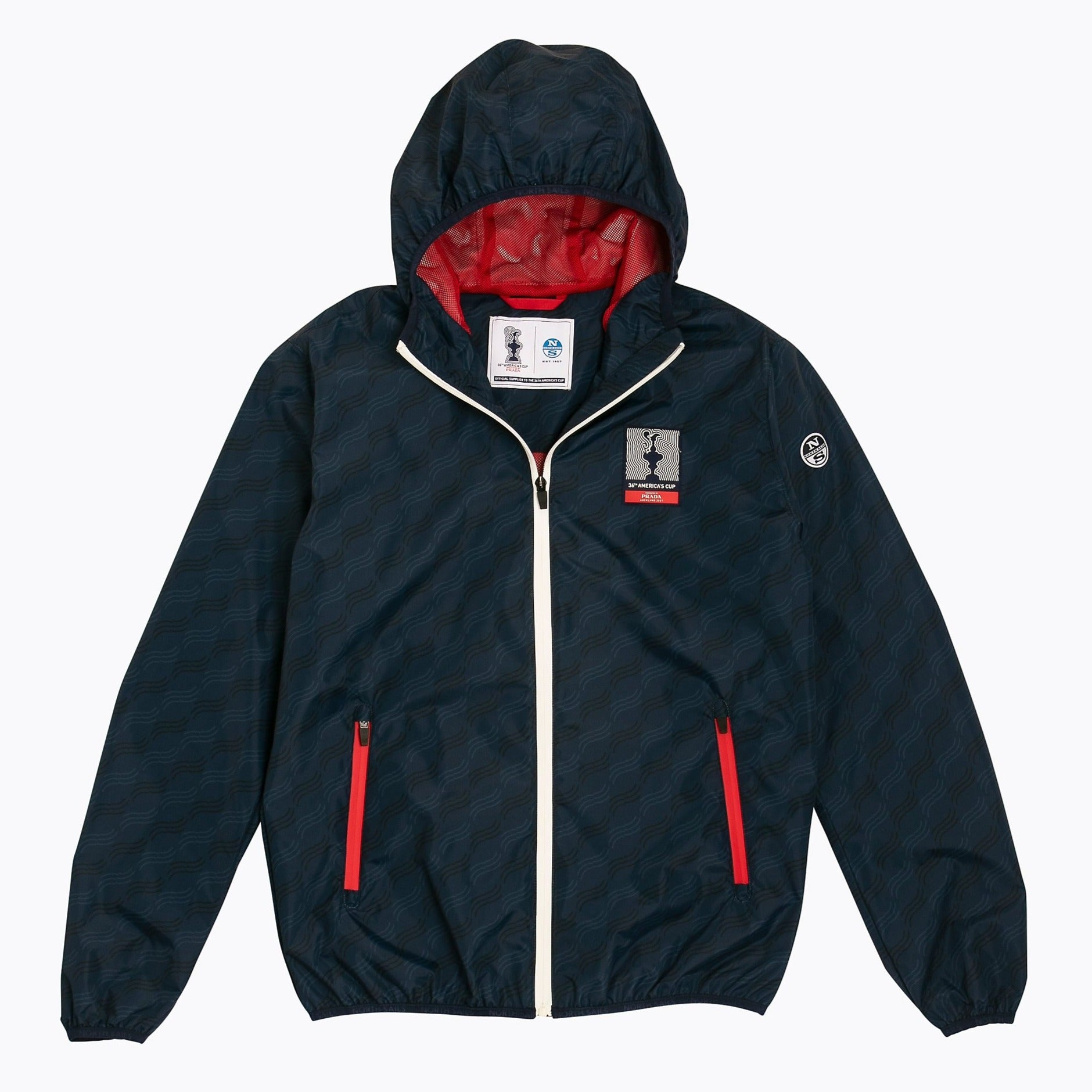 "North Sails America's Cup Presented by PRADA ""San Francisco"" Jacket Navy Blue"
