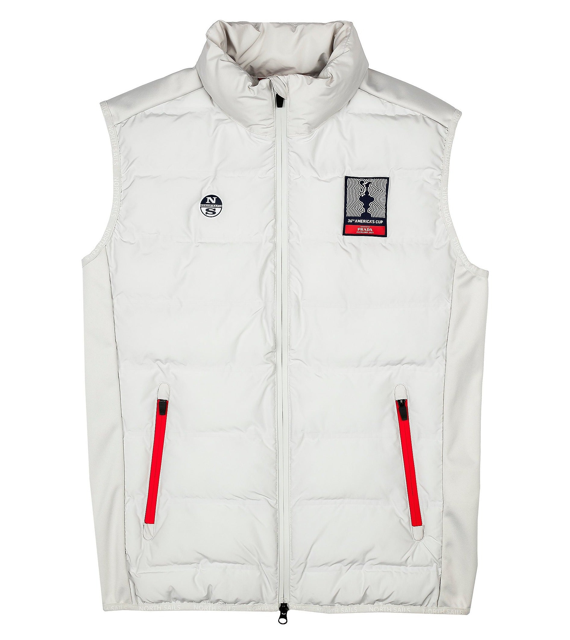 North Sails America's Cup Presented by PRADA New York Gilet Grey Violet