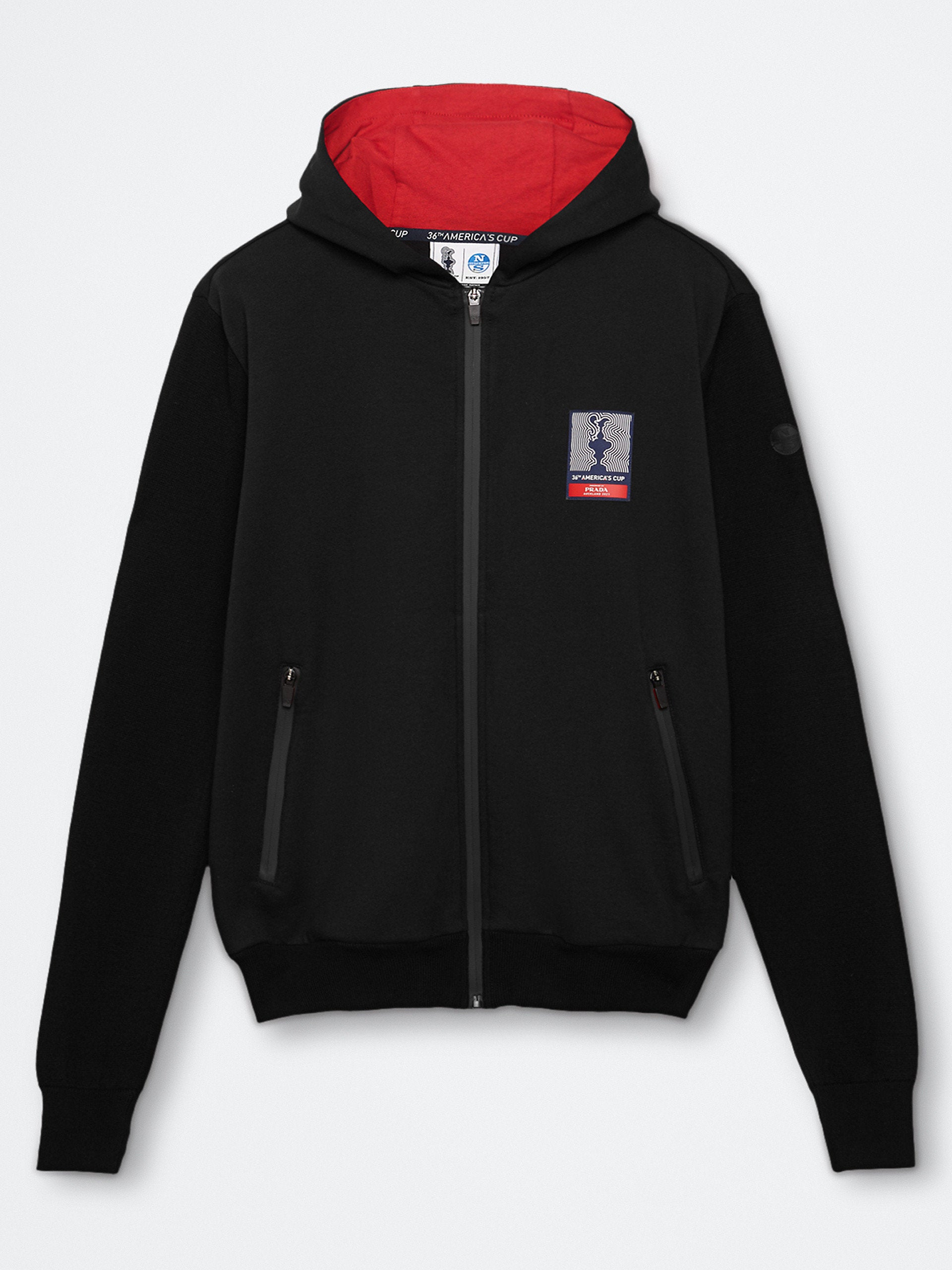 "North Sails America's Cup Presented by Prada ""GORE"" Hoodie Black"