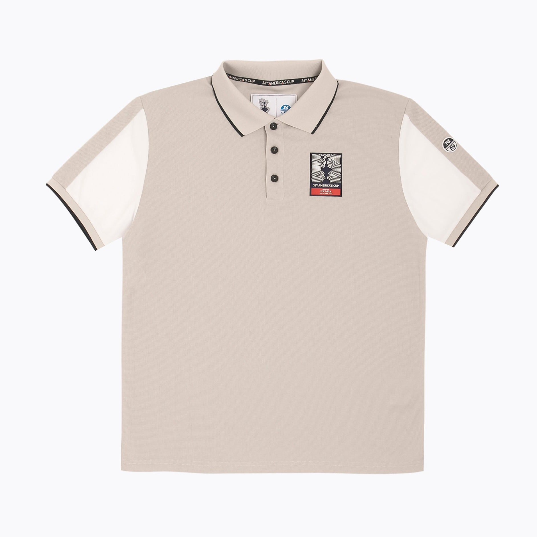 "North Sails America's Cup Presented by PRADA ""Auckland"" Polo Shirt Grey Violet"