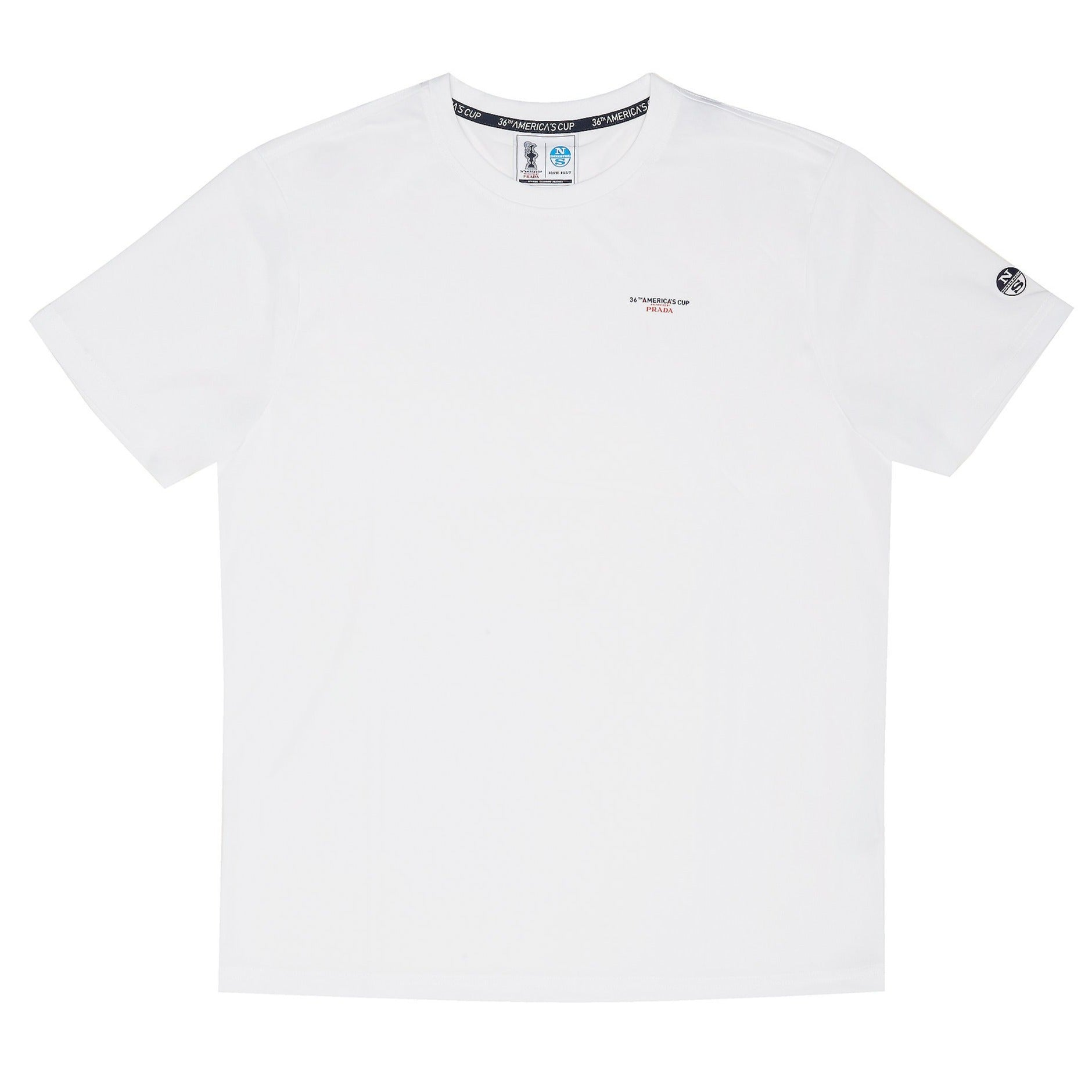"North Sails America's Cup Presented by PRADA ""Bora"" T-Shirt White"