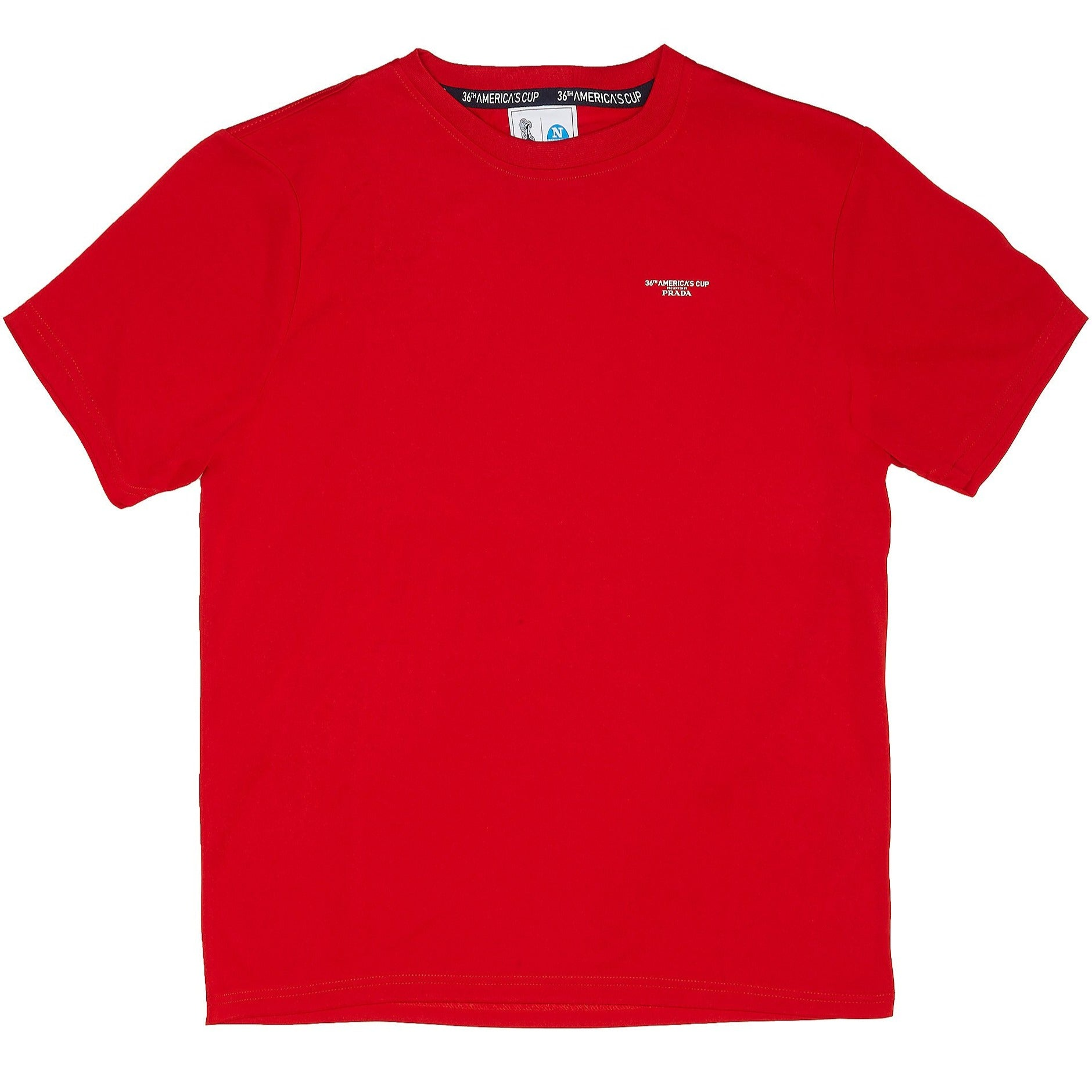 "North Sails America's Cup Presented by PRADA ""Bora"" T-Shirt Red"