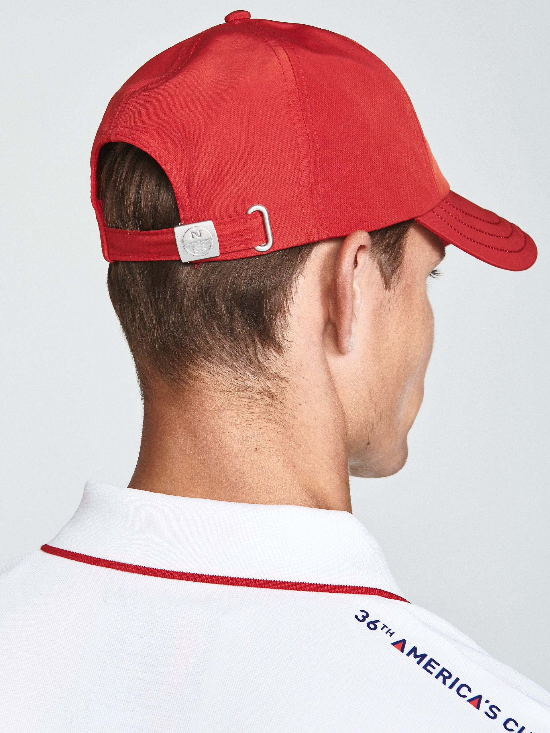 North Sails America's Cup Presented by PRADA Baseball Cap Red