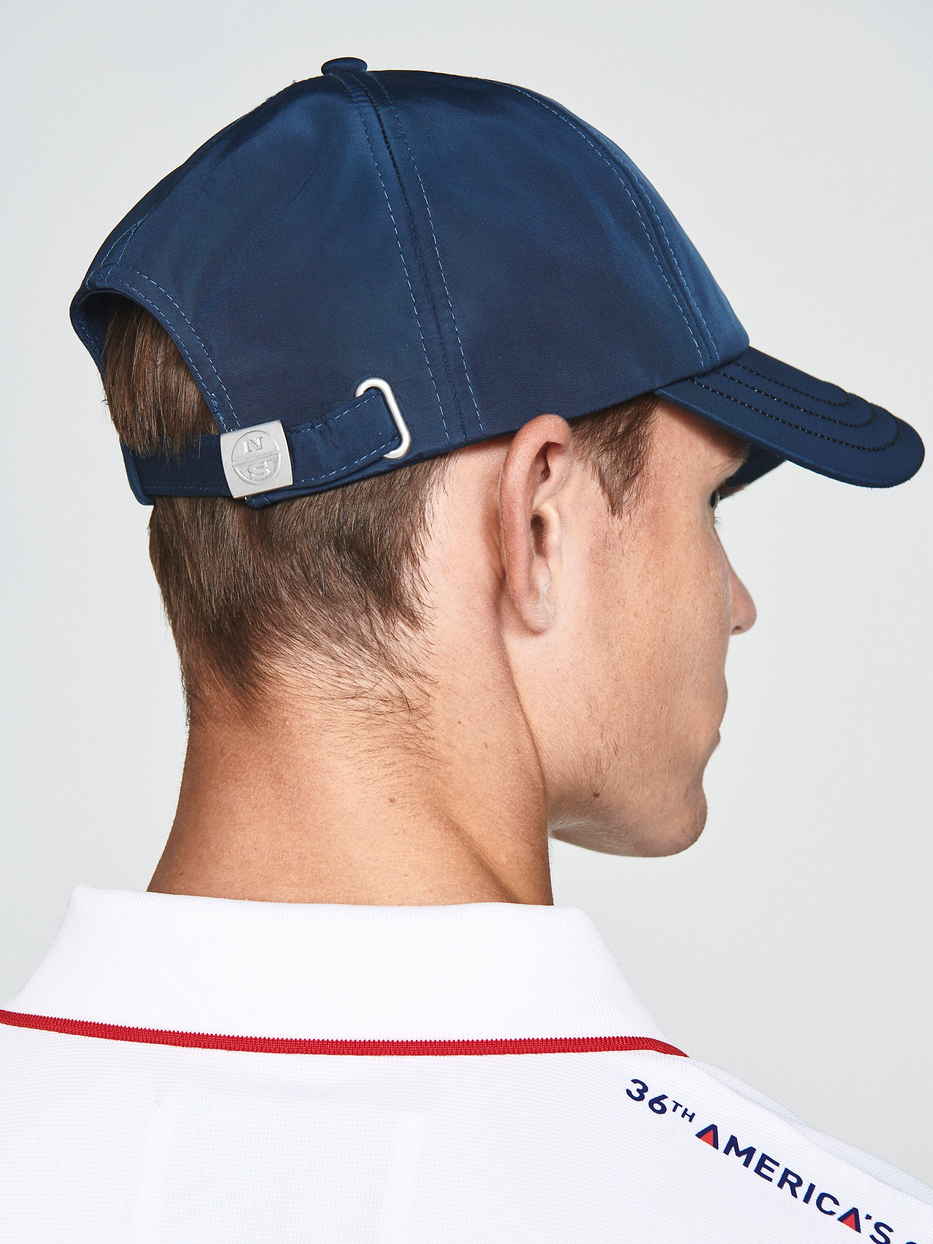 North Sails America's Cup Presented by PRADA Baseball Cap Navy Blue