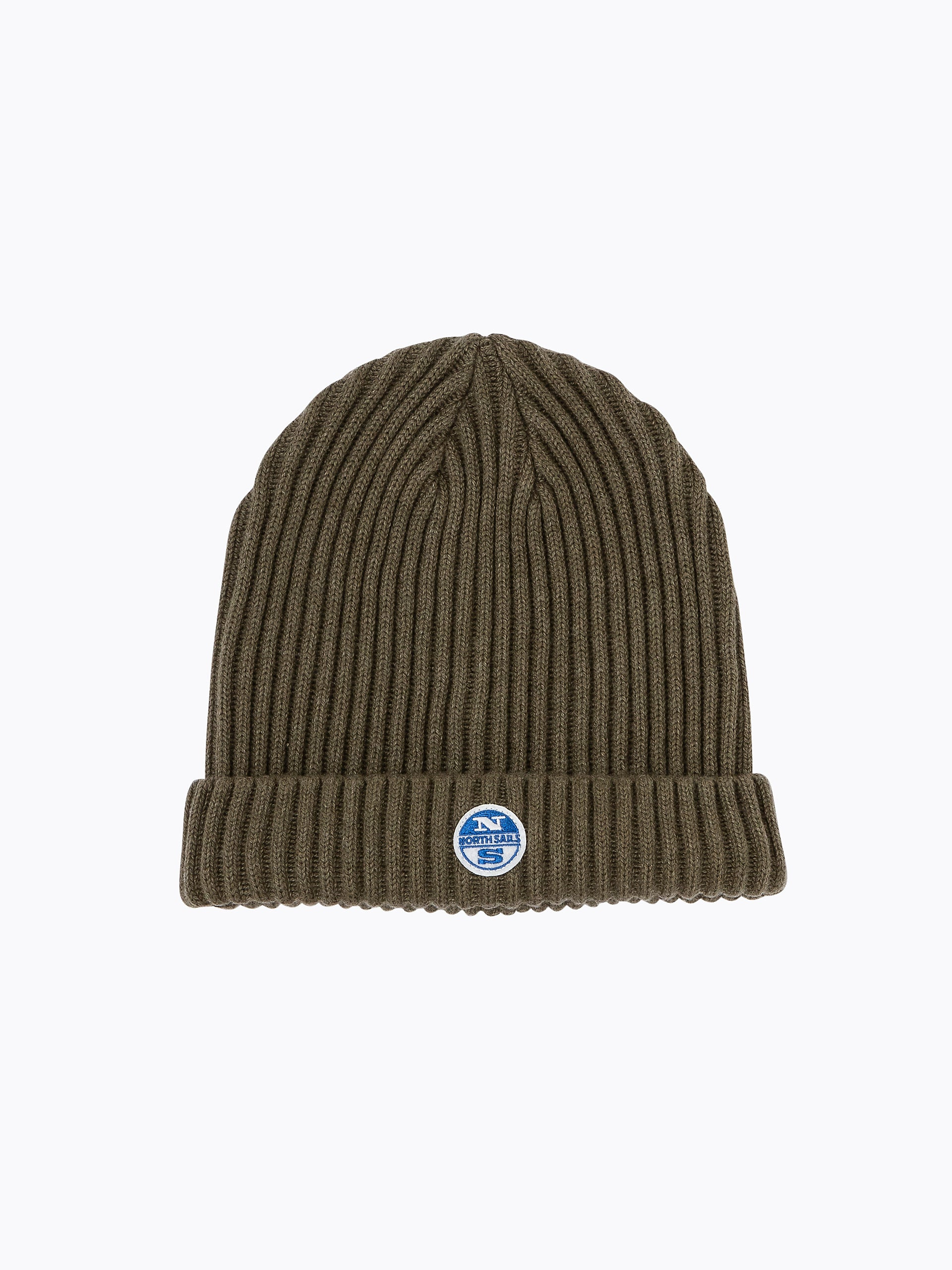 North Sails Woolly Beanie Hat Khaki