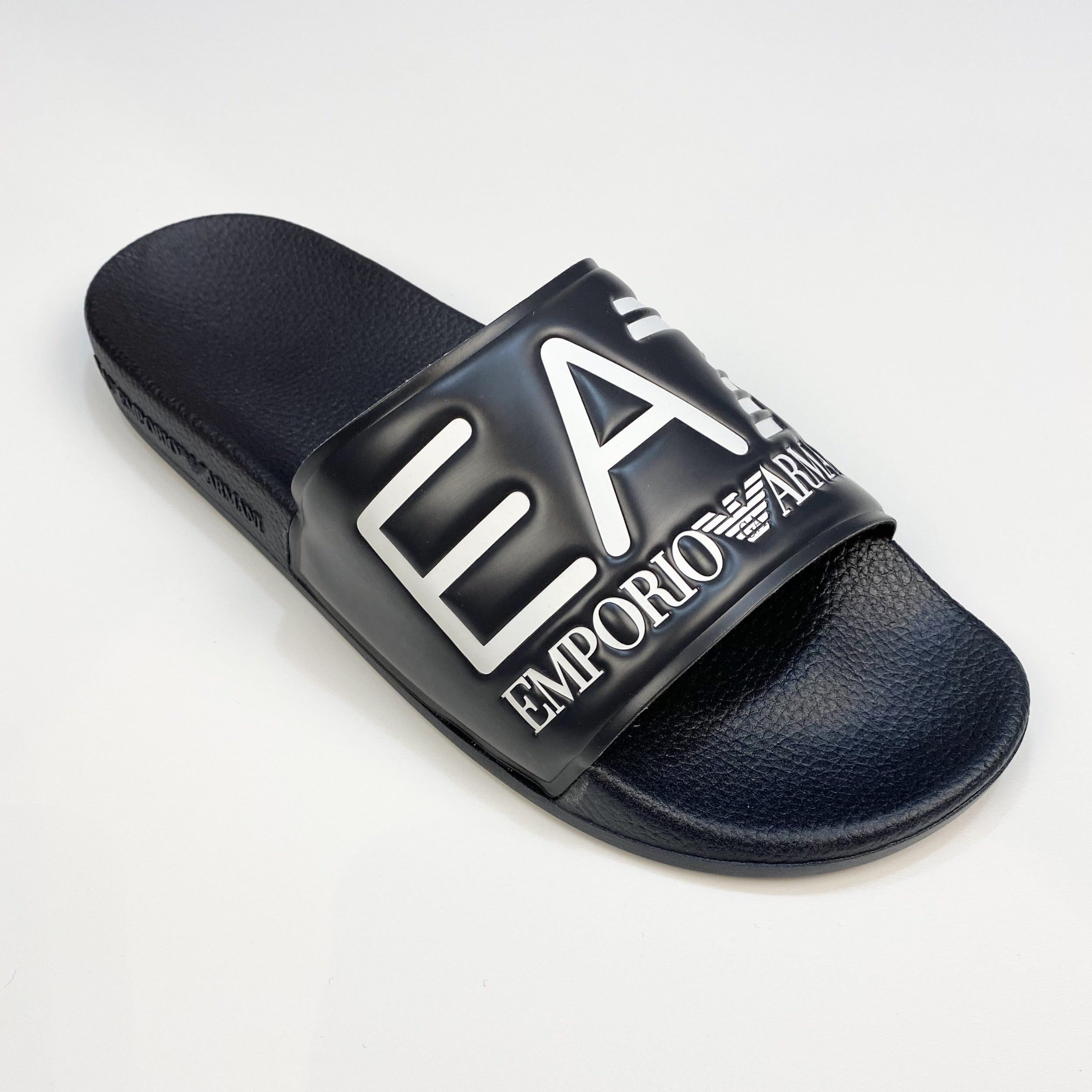 EA7 Pool Side Slides Navy