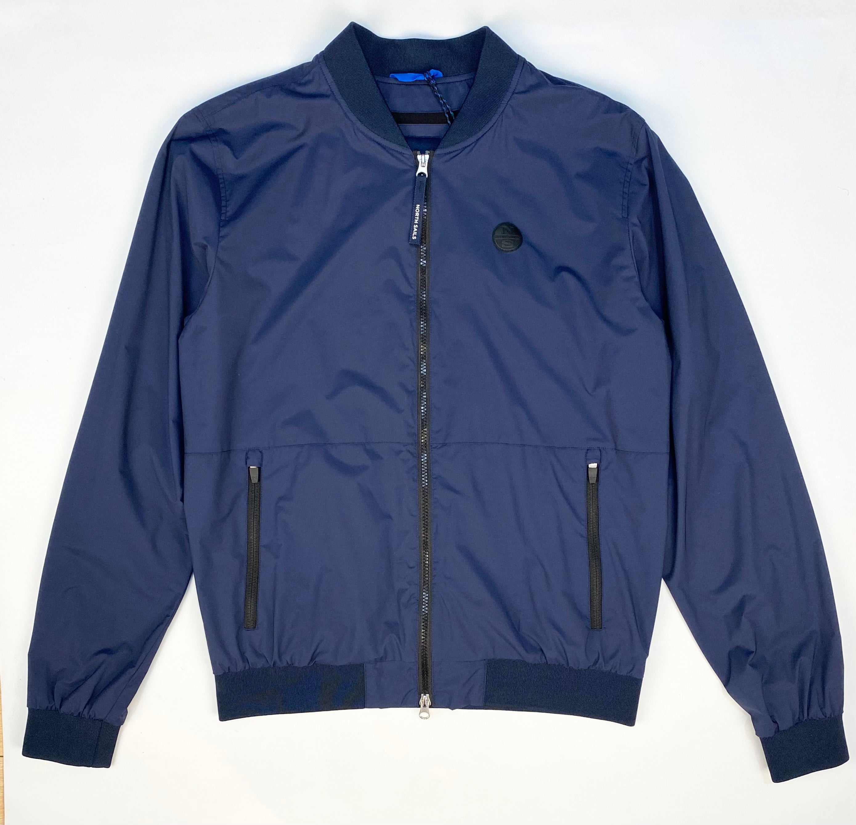 North Sails 'ROUSAY' Nylon Bomber Jacket Navy