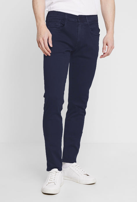 "Replay Anbass Slim Fit ""Colour Edition"" HYPERFLEX Jeans Navy"