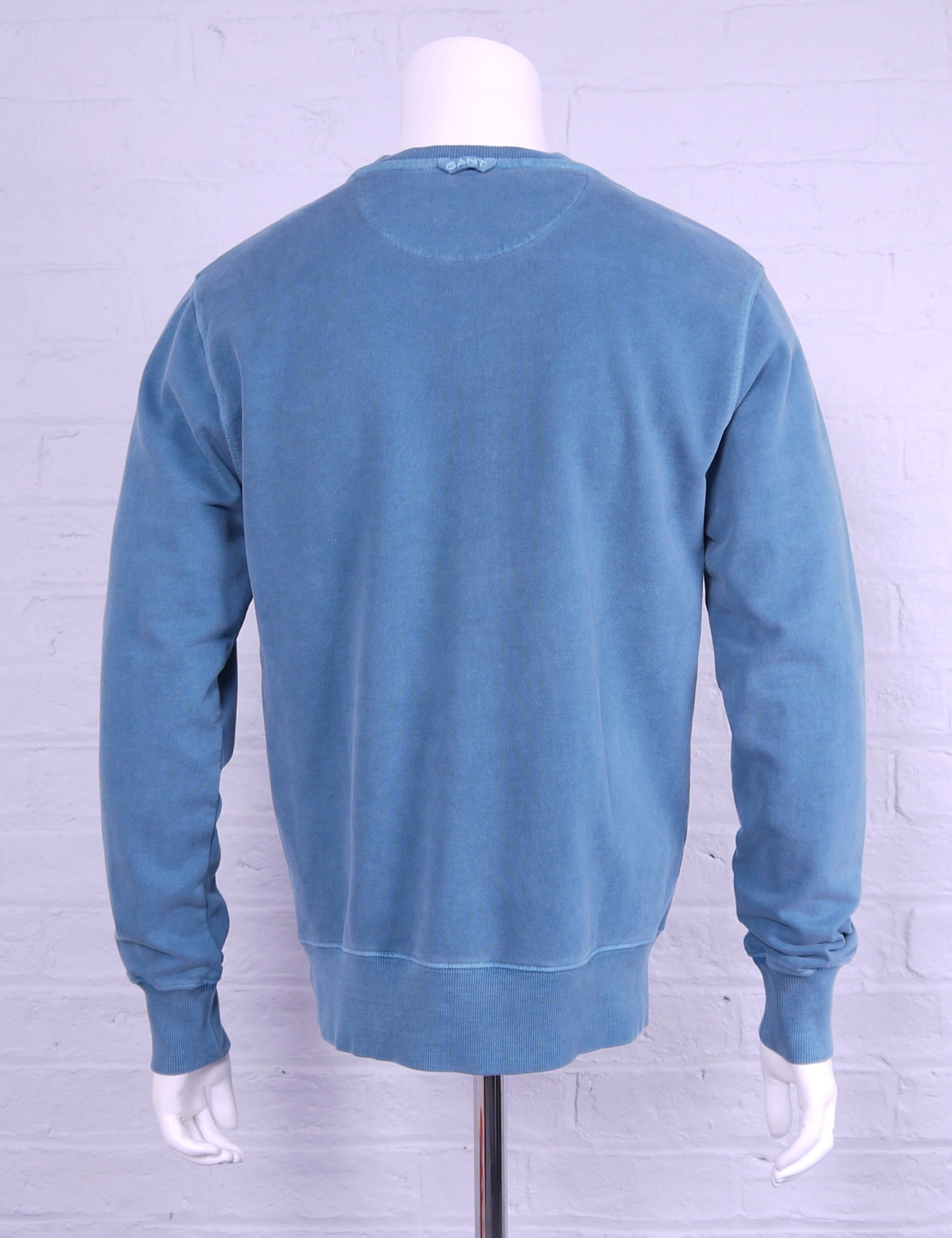 "Gant ""Winter Faded"" Sweatshirt Atlantic Deep Green"