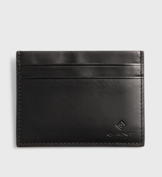 Gant Leather Card Holder Black