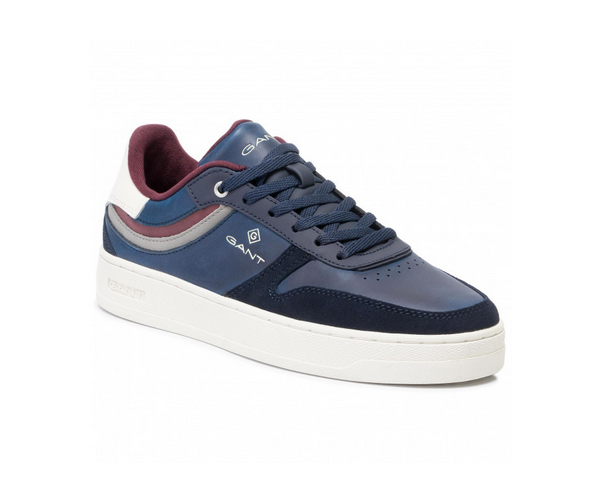 "Gant ""DETROIT"" Panelled Cup Sole Trainer Navy"