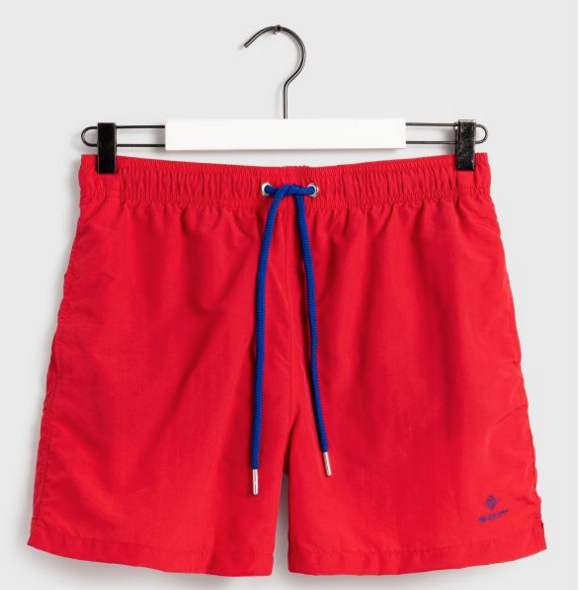 "Gant ""Classic"" Swim Shorts Bright Red"