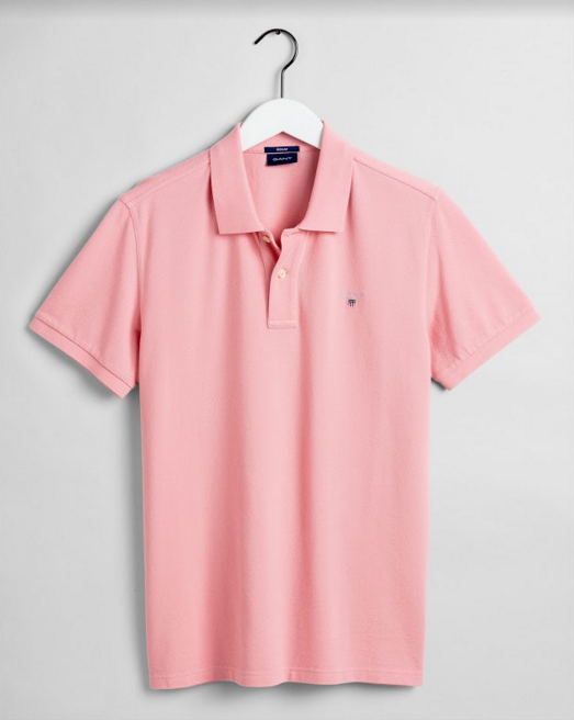 "Gant ""Classic Original"" Polo Shirt Summer Rose Pink"