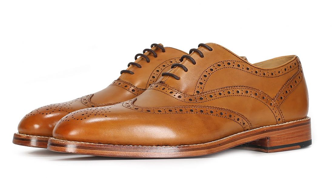 "Oliver Sweeney ""Aldeburgh"" Oxford Brogue Tan"