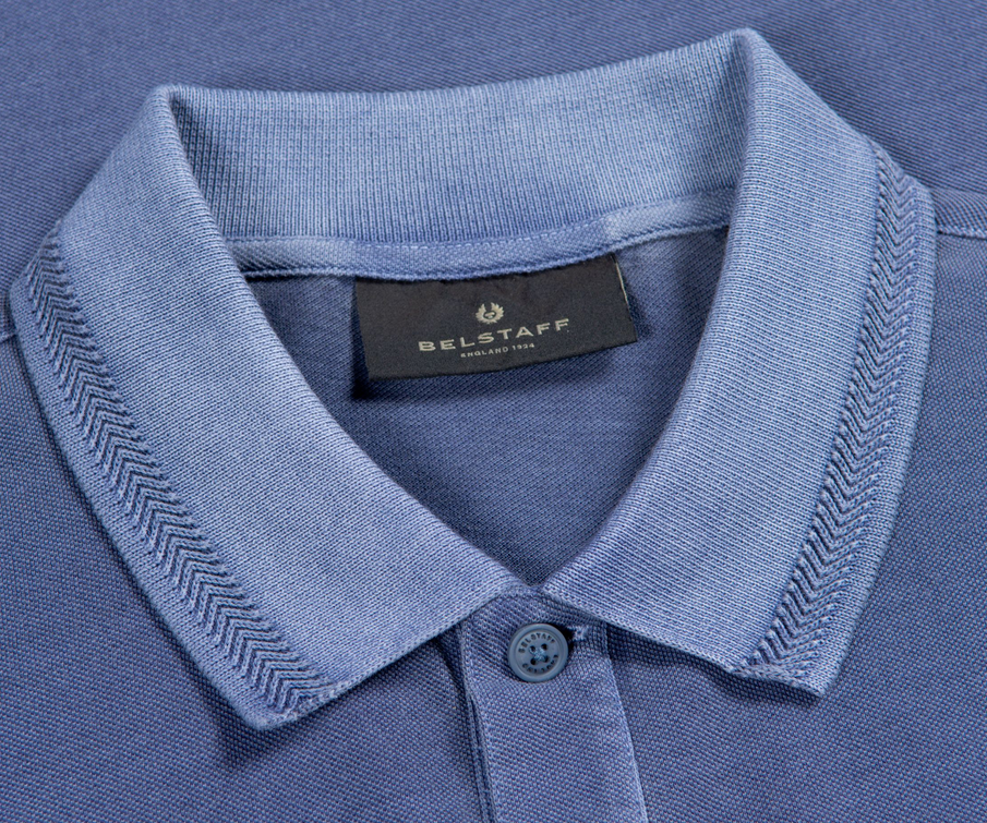 Belstaff S/S Pique Polo Shirt Racing Blue