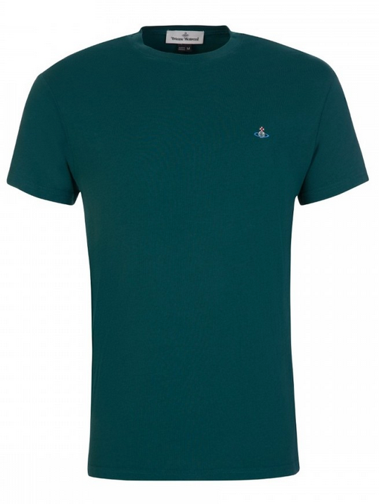 Vivienne Westwood Classic Boxy Fit T-Shirt Green