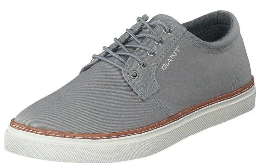 "Gant ""Prepville"" Canvas Trainer Dark Grey"