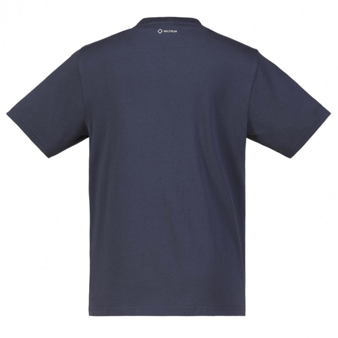 "MA Strum ""Icon Box Logo"" T-Shirt Navy/White"