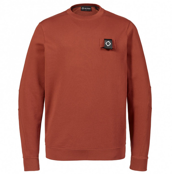 MA.Strum TRAINING CREW Sweatshirt Burnt orange