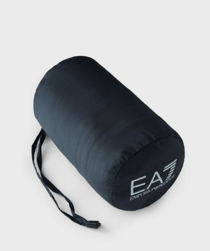 EA7 Packable Down Filled Chevron Qulited Jacket Navy
