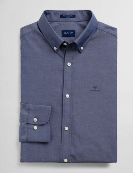 "Gant "" Pinpoint Oxford"" Shirt Navy"