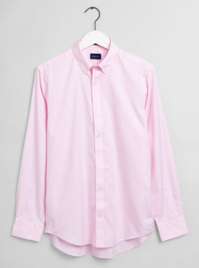 "Gant "" Pinpoint Oxford"" Shirt Pink"