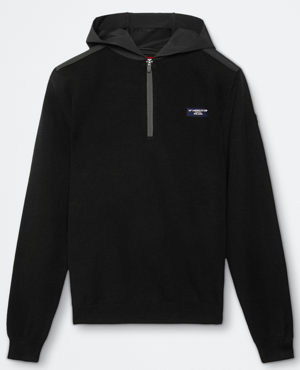 "North Sails America's Cup Presented by PRADA ""LEVIN"" Hoodie Black"