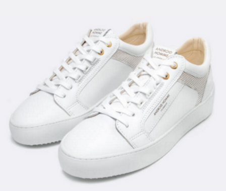Android Homme 'VENICE' Luxury Sneaker Ghost White