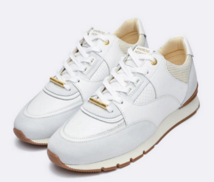Android Homme 'BELTER 2.0' Luxury Runner Ghost White Gold