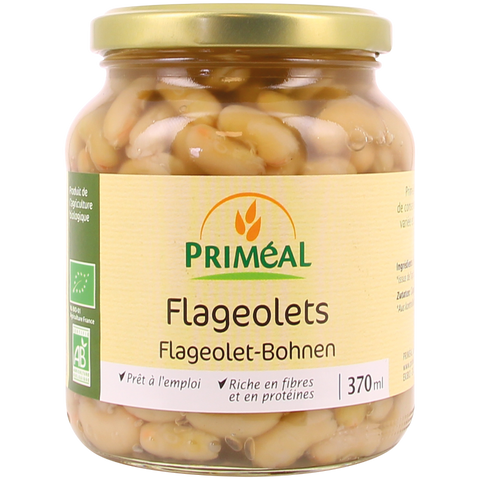 Flageolets au naturel bio - bocal de 370mL