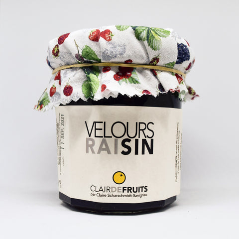 Gelée* velours raisin