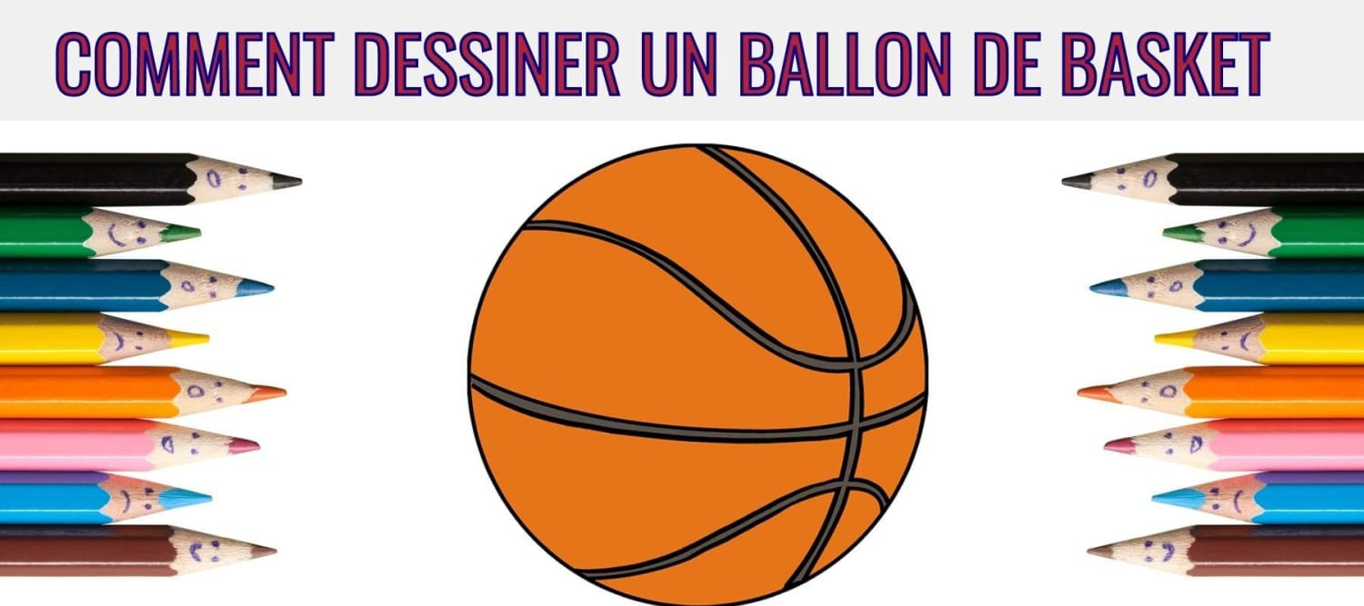 Comment Dessiner Un Ballon De Basket