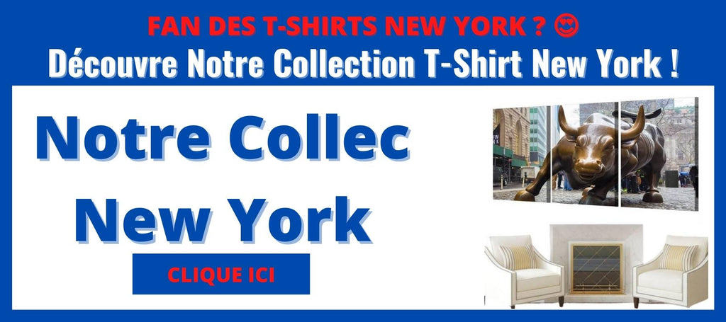 Collection T-Shirts Spécial New York