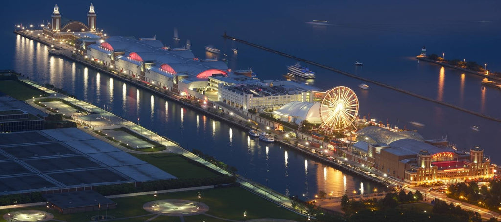 Navy Pier à Chicago, Illinois