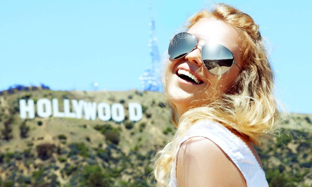 Panneau Hollywood Californie