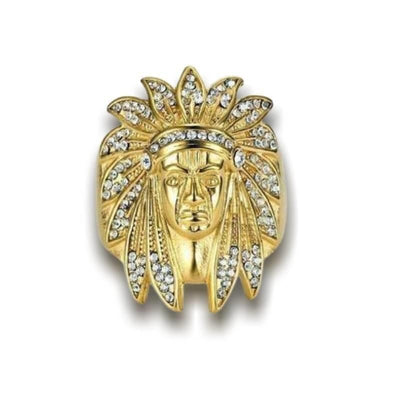 Bague Americaine Chef Indien