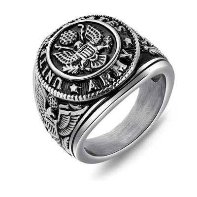 Bague Americaine Homme Us Army