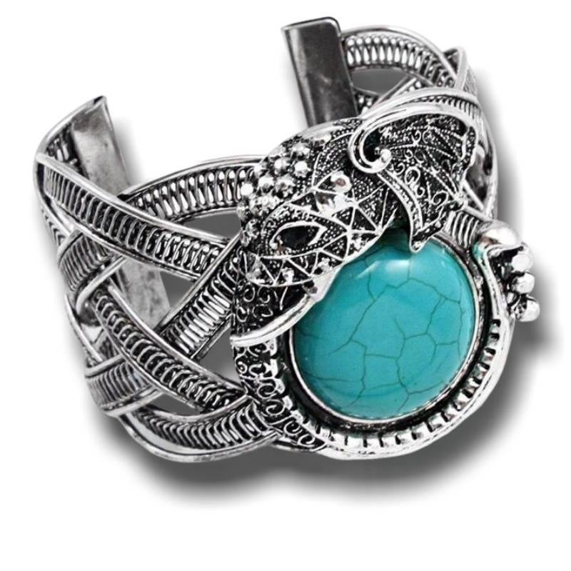 Bracelet Americain Indien Turquoise