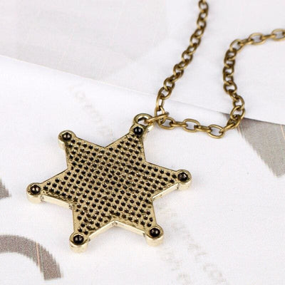 Collier Americain Western