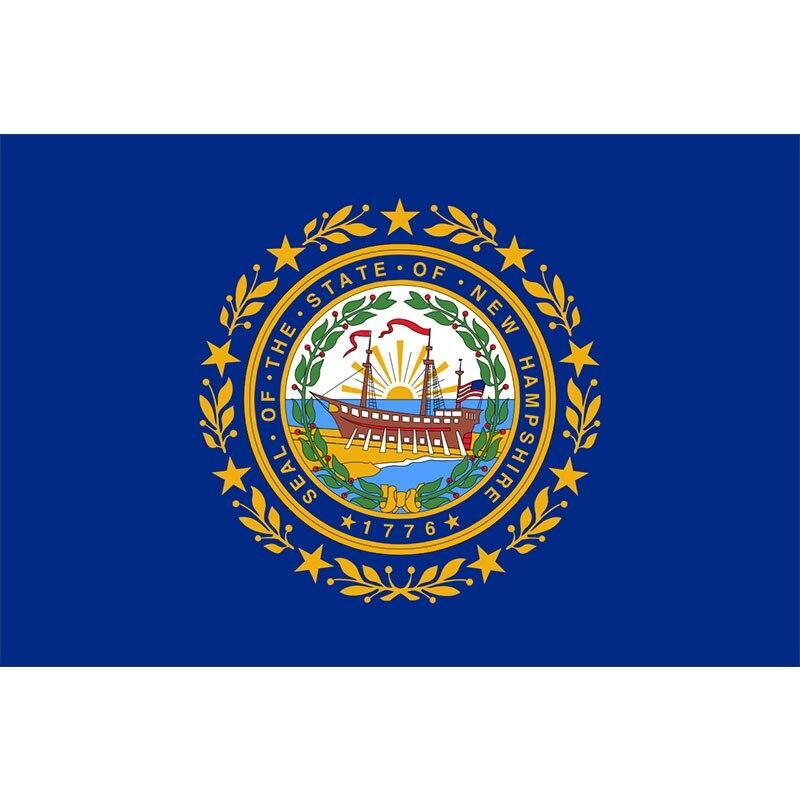 Drapeau Vintage New Hampshire