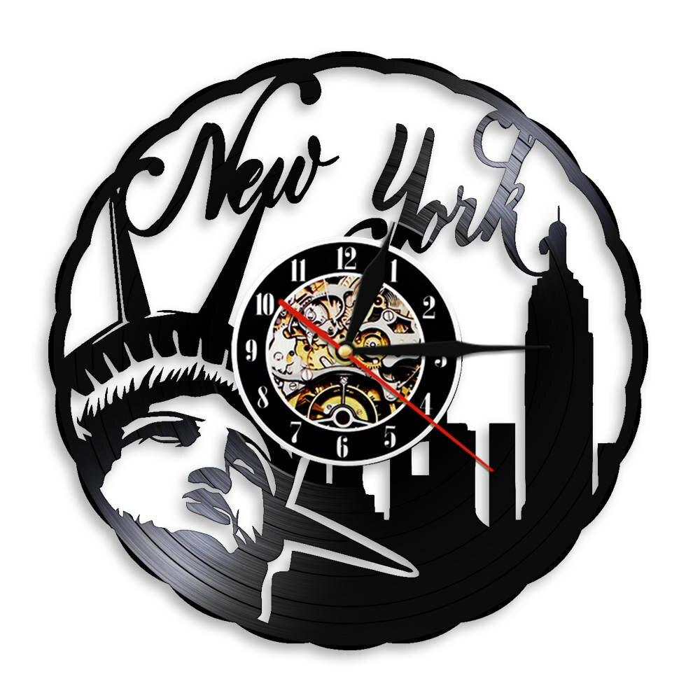 Horloge Vintage Murale Design New York