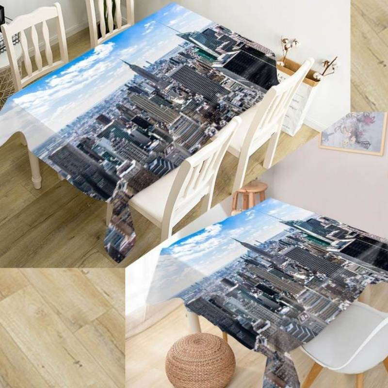 Nappe Vintage De Table New york